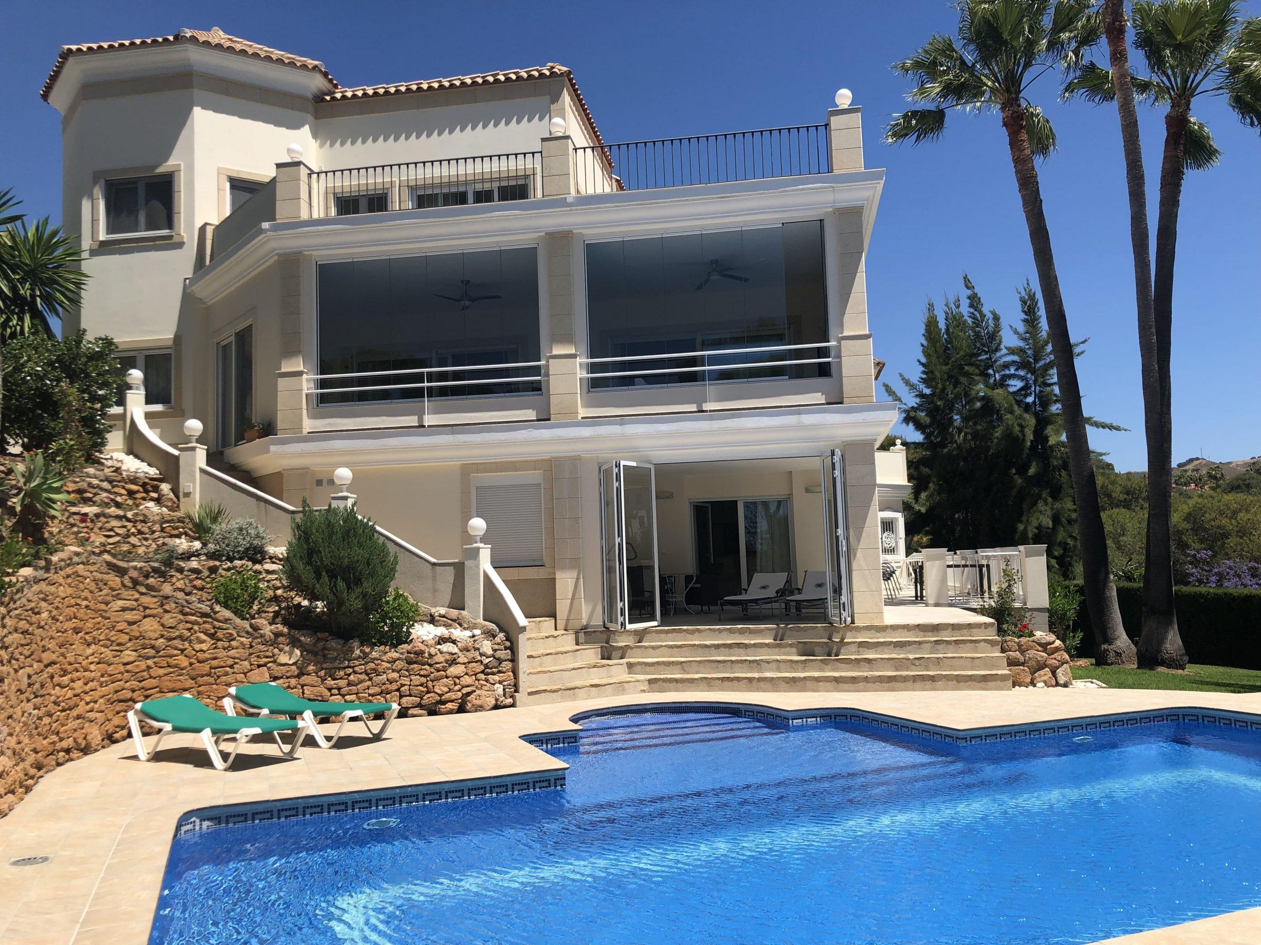 Espectacular casa vacacional en Marbella